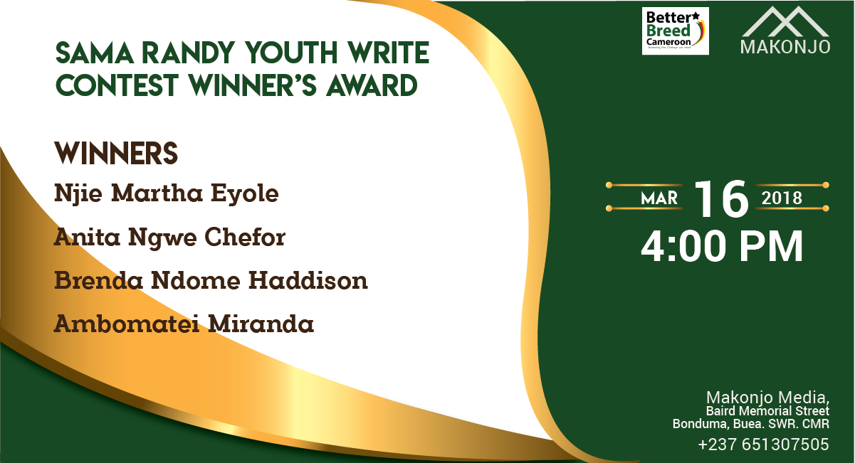 Better Breed Reveals Winners of the 2018 Sama Randy Youth Write Contest